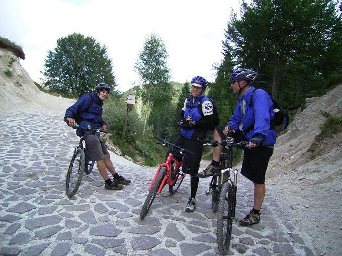 Das Mallorca on Bike-Team: Kerstin, Paul und Bernhard