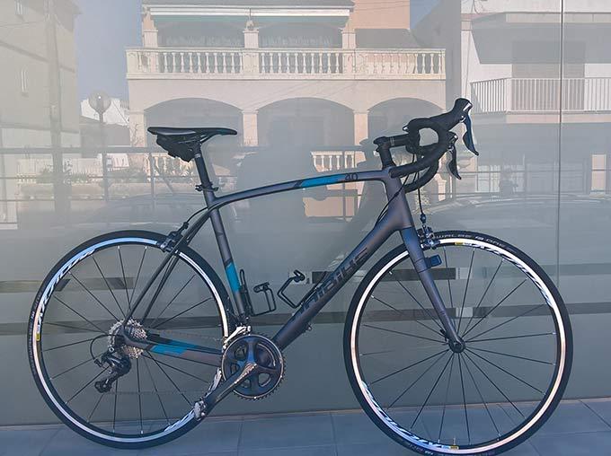mallorcaonbike: Carbon Rennrad Haibike AFFAIR Race 8.0 22-G Ultegra